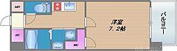 Vertex(ヴェルテックス) 8階1Kの間取り