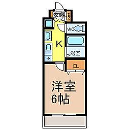 プレサンス桜通アベニュー[1103号室]の間取り