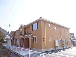 広島県広島市安佐北区大林1丁目の賃貸アパートの外観