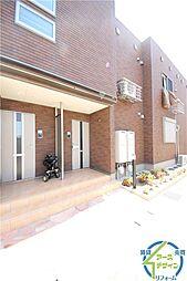 兵庫県明石市大久保町茜1丁目の賃貸アパートの外観
