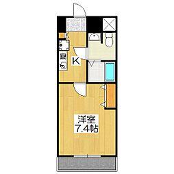 おおきに出町柳サニーアパートメント(旧 S-CREA出町柳)[303号室]の間取り