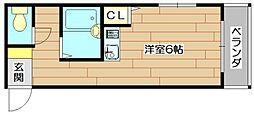 フェリシモ96[3階]の間取り