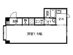 ヌーベル98[3階]の間取り