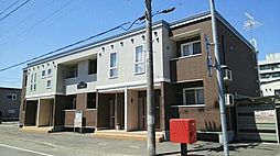 北海道旭川市東八条6丁目の賃貸アパートの外観