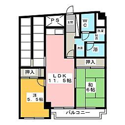 トミタビル南館[2階]の間取り