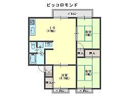 ピッコロモンド[2階]の間取り