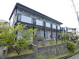 兵庫県神戸市須磨区多井畑東町の賃貸アパートの外観