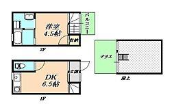 W&Rアパートメント01[2階]の間取り