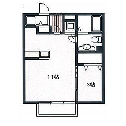 E-MAII[2階]の間取り