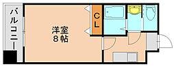 第7マルヤビル博多[3階]の間取り