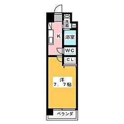 サニー東山[5階]の間取り