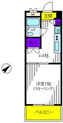 内藤レジデンス[3階]の間取り