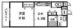レシア舞子[3階]の間取り
