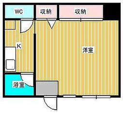 スタービレッジ新松戸[1階]の間取り
