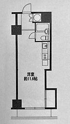 藤和横浜西口ハイタウン[305号室]の間取り