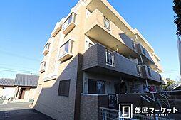 愛知県岡崎市柱曙3丁目の賃貸マンションの外観