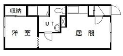 メゾン・ドJUN PARTII[103号室]の間取り