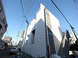 愛知県名古屋市北区生駒町7丁目の賃貸アパートの外観
