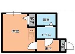 新大塚アパートメント[2階]の間取り