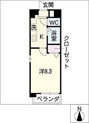 大忠ビル[4階]の間取り