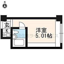 ANTEROOM KYOTO[527号室]の間取り