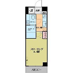 ルーラル五番館[5階]の間取り
