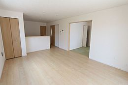 和室を合わせて21.7帖の大きな空間
