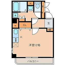 メイフェアハウス三田[5階]の間取り