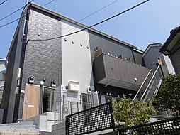 神奈川県横浜市青葉区千草台の賃貸アパートの外観