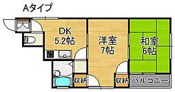 メゾンコマツ[3階]の間取り