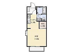 ウイング21[1階]の間取り