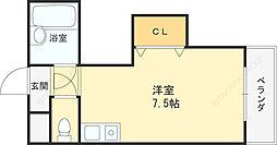 ダゼアマンション[702号室]の間取り