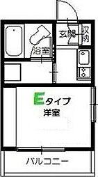 東京都江戸川区一之江1丁目の賃貸アパートの間取り