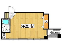 ヨシナガファーストビル[5階]の間取り