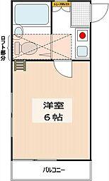 ミキハウスII[2階]の間取り