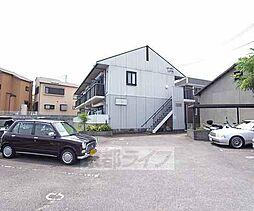京都府八幡市八幡大芝の賃貸マンションの外観