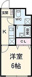 東京都江戸川区江戸川3丁目の賃貸マンションの間取り