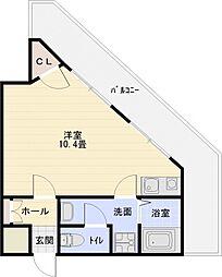 コンチェルト[1階]の間取り