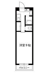 エーデルハイムサカイ[3階]の間取り