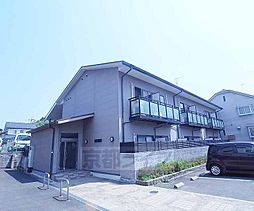 京都府京都市左京区山端大塚町の賃貸アパートの外観