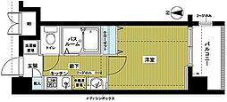 東京都豊島区池袋1丁目の賃貸マンションの間取り