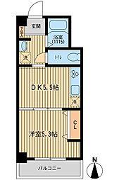 東信松濤マンション[4階]の間取り