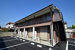 兵庫県姫路市飾磨区下野田2丁目の賃貸アパートの外観