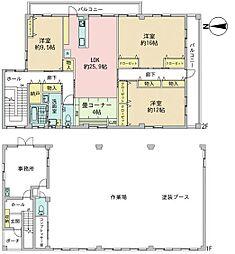 名鉄瀬戸線 新瀬戸駅 バス21分 東本地ケ原下車 徒歩4分 3SLDKの間取り