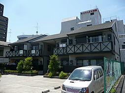 大阪府茨木市春日1丁目の賃貸アパートの外観
