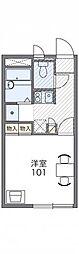 東京都練馬区下石神井3丁目の賃貸アパートの間取り