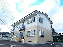 埼玉県北本市緑4丁目の賃貸アパートの外観