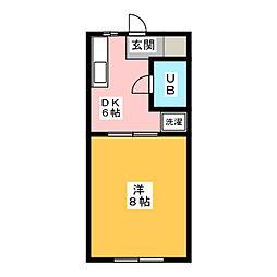 コート・ラ・セーヌ[1階]の間取り