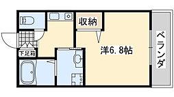 セジュールZIROZA A棟[102号室]の間取り