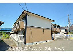 大阪府枚方市田宮本町の賃貸アパートの外観